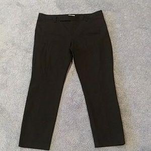 Gap slim cropped black jeans